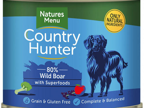 Country Hunter - Wild Boar with Superfoods