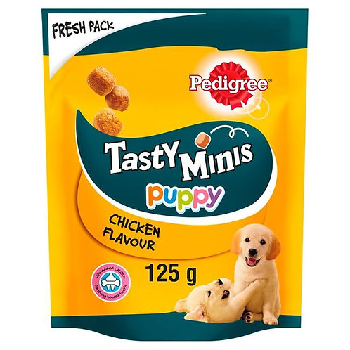 PEDIGREE TASTY MINIS CHEWY CUBES JUNIOR - 125G