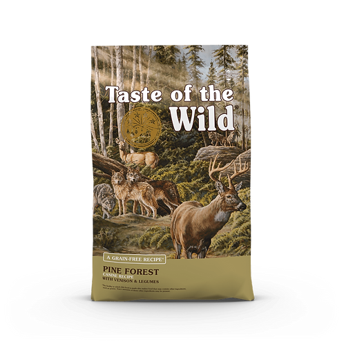 Taste of the Wild - Pine Forest  - Formula with Venison & Legumes