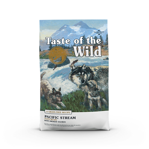 Taste of the Wild - Pacific Stream Puppy Formula - with Smoked Salmon