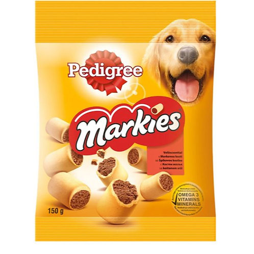 PEDIGREE TREAT MARKIES - 150G