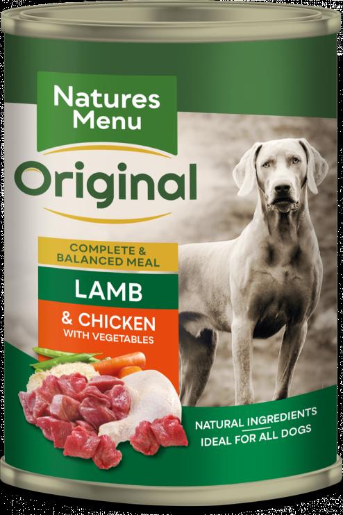 Natures Menu - Lamb with Chicken