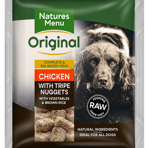 Natures Menu - Chicken with Tripe Nuggets