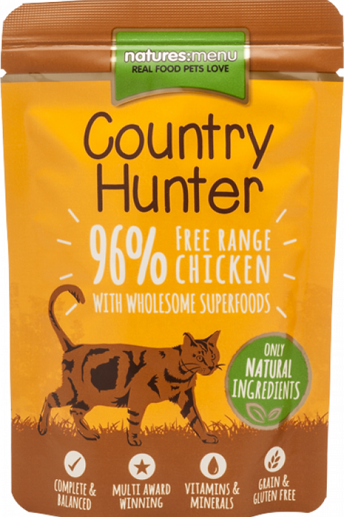 Country Hunter - Free Range Chicken Cat Pouches