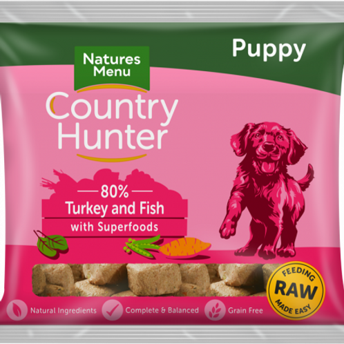 Country Hunter - Raw Puppy Nuggets