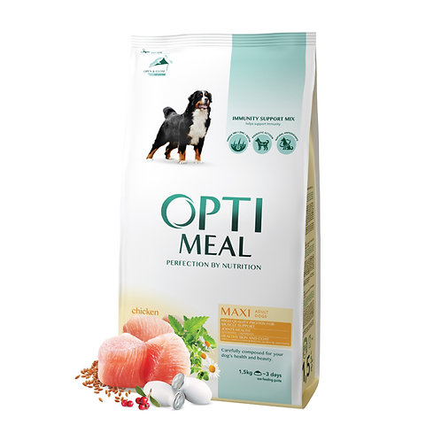OPTIMEAL - Complete Dry food for Adult of Large Breed - Chicken