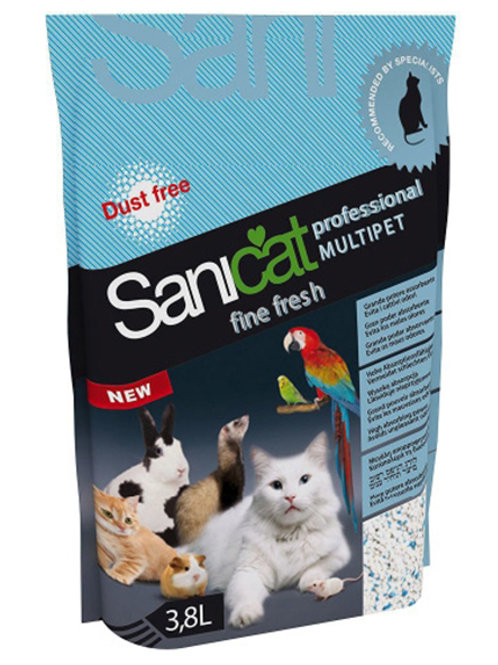 SANICAT PROFESSIONAL MULTI-PET LITTER - 3.8LT