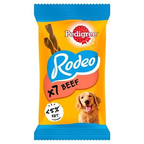 PEDIGREE TREAT BEEF RODEO 7 PCS - 123G