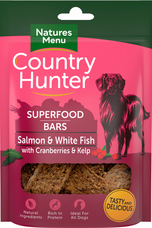 Country Hunter - Salmon and White Fish with Superfood bars