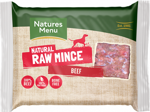 Natures Menu - Just Beef Raw Mince