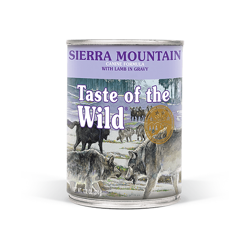 Taste of the Wild - Sierra Mountain Canine - Formula with Roasted Lamb in Gravy