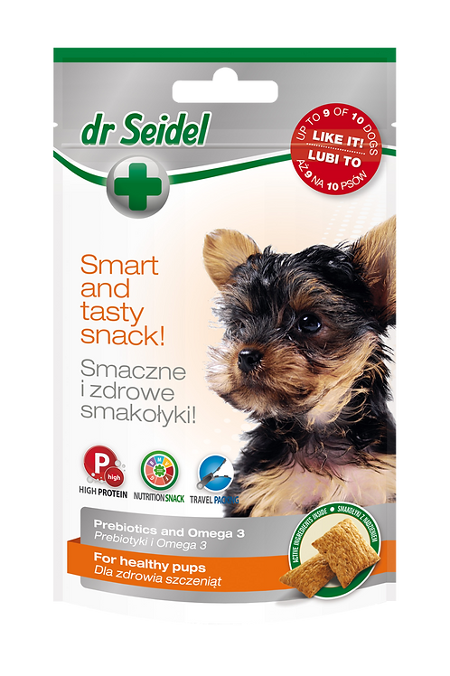 Dr Seidel Snacks for healthy puppies.