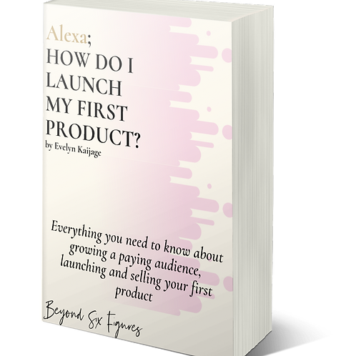 Alexa: How do I launch my first product?