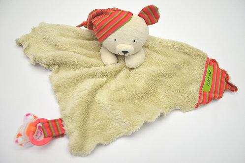 Zipfeltuch - Teddy beige