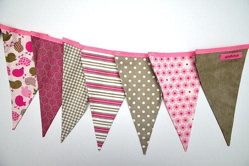 Die schöne Dekoration für's Kinderzimmer - rosa