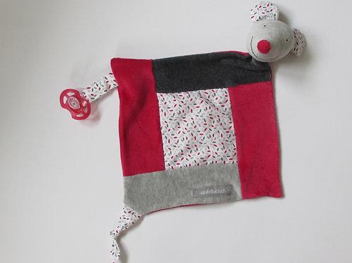 Zipfeltuch - Maus rot