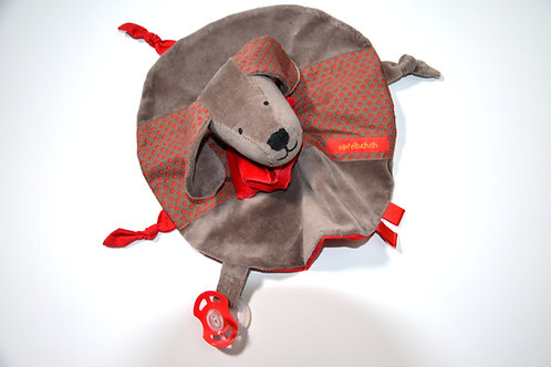 Zipfeltuch -Hund