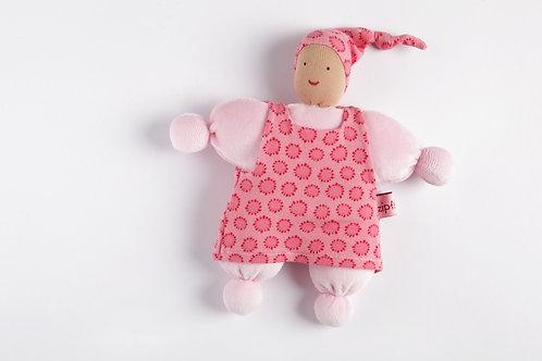 Schmuesepüppchen klein - Mädchen rosa