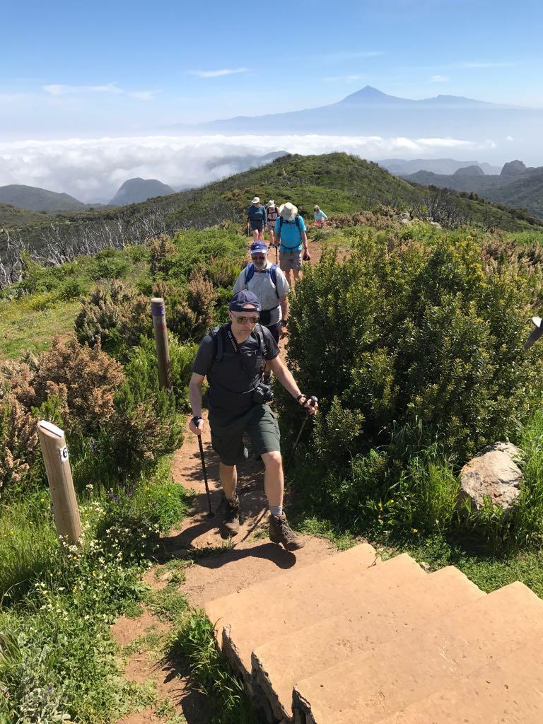 Monday: National Park - Alto de Garajona