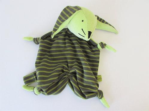 Zipfeltuch - Hase grün