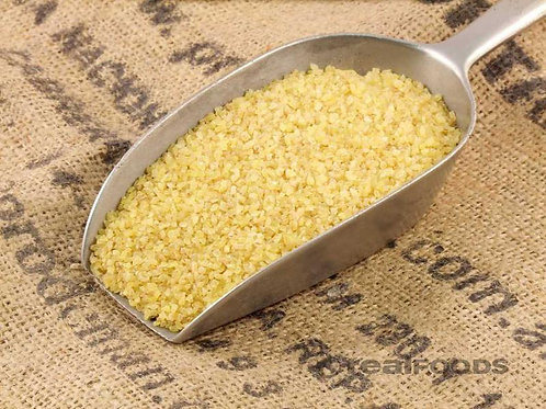 Fine white bulgur wheat