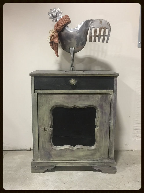 1930's Antique Cabinet with Drawer (Cassetto Mobili)
