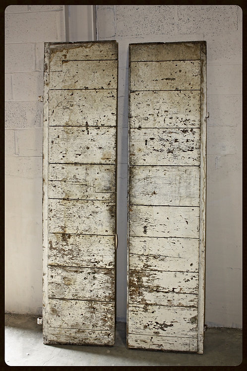 19th Century Antique Rustic Doors (Pair)