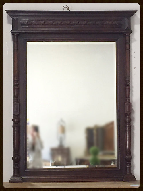 19th Century Large Mirror