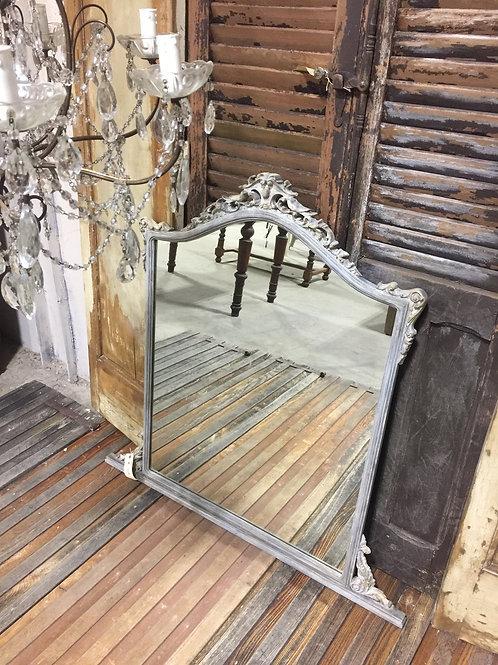 Vintage Hand Painted Mirror