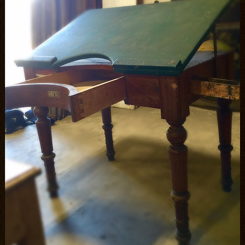 Antique Drafting /Surveyor's Table