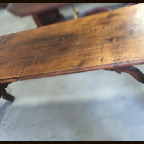 Mid 19th Century Antique Long Farm Table