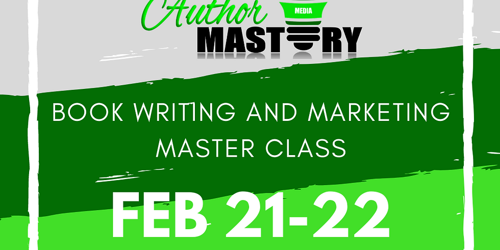 Six-Figure Author Book Writing & Marketing Master Class