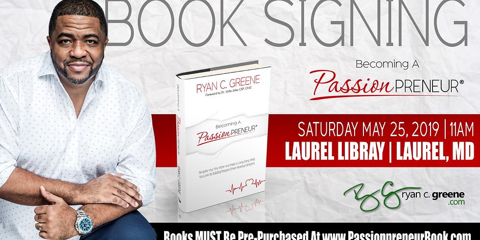 LAUREL, MD: BOOK RELEASE