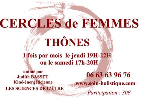 CERCLES DE FEMMES 2019/2020