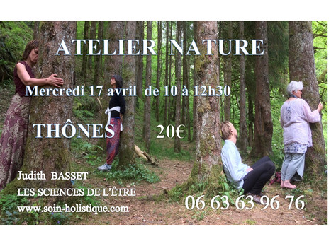 ATELIER NATURE 17 AVRIL - THÔNES