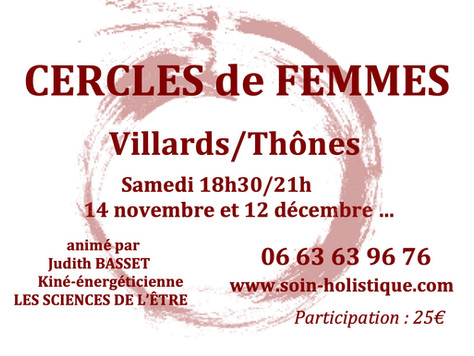CERCLES DE FEMMES 2020/2021