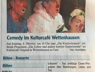 Clown und Comedy in Wettenhausen