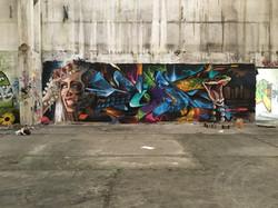 Graffiti / Painting in Budapest