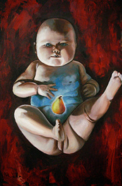 SOLD-- Baby with Seed