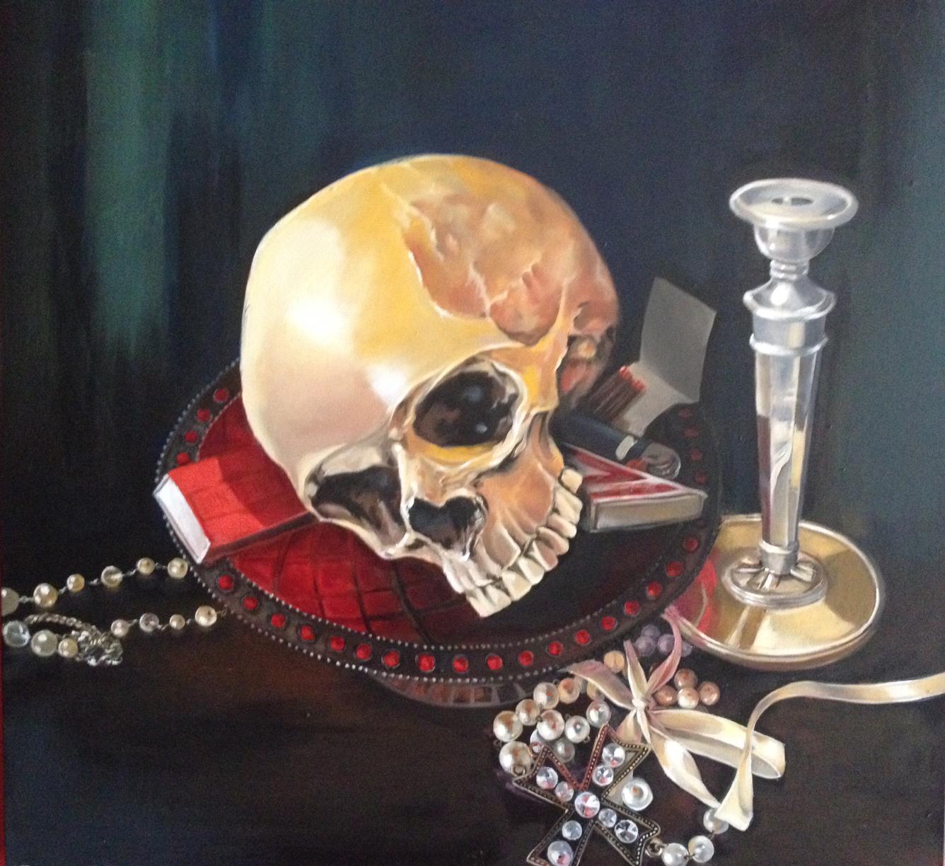 Skull in Bowl