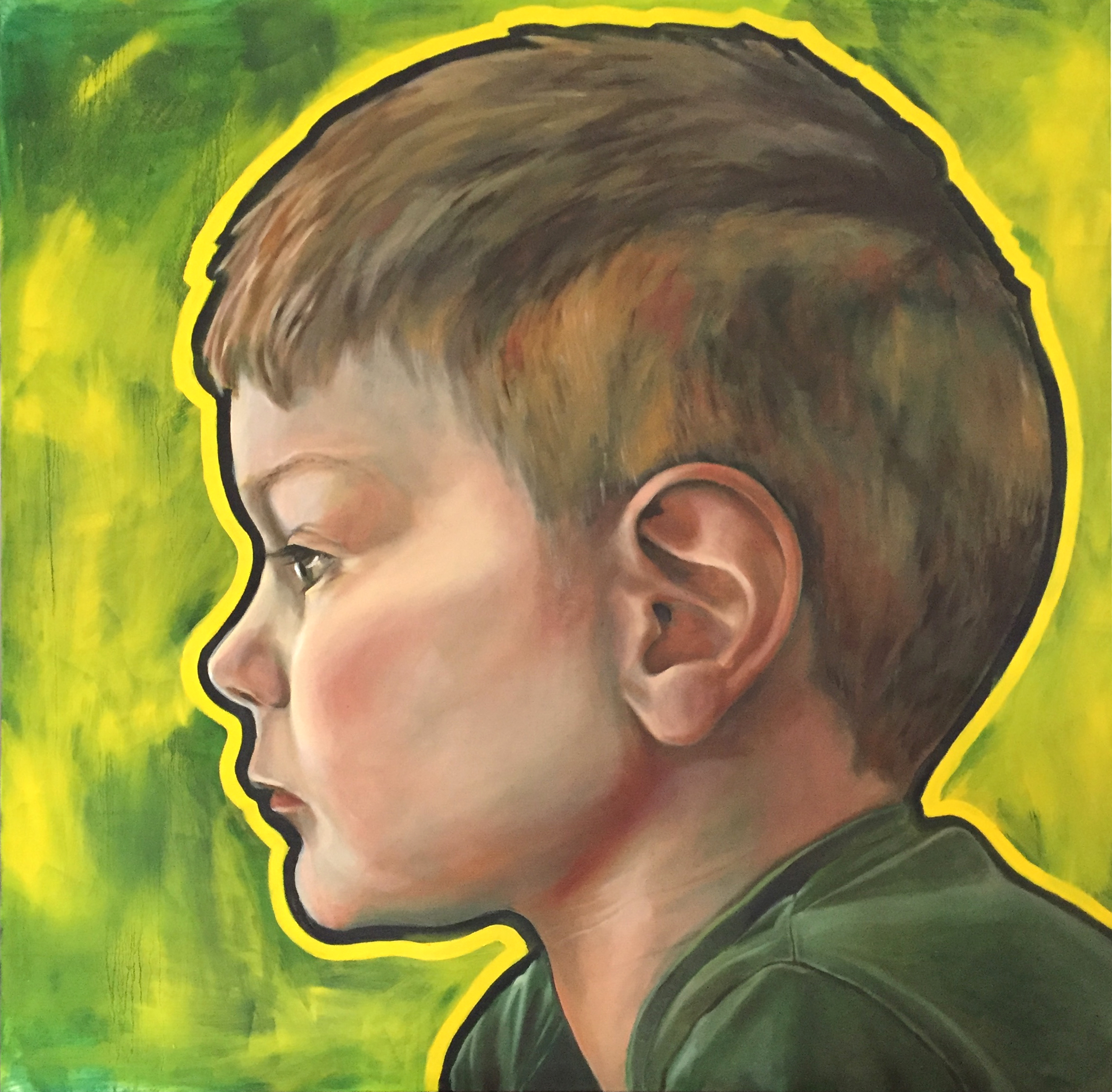 SOLD-Portrait of Boy