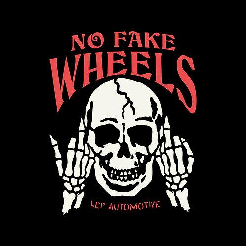 No Fake Wheels Tee