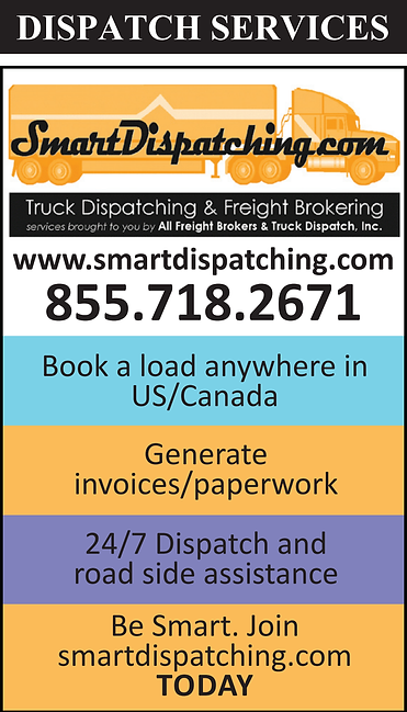 SmartDispatching.com Logo and Services provided