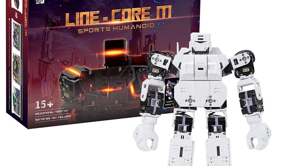 STUXXPLUXX Kit Robot Graphique Robot Humanoïde Programmable 27 Cm