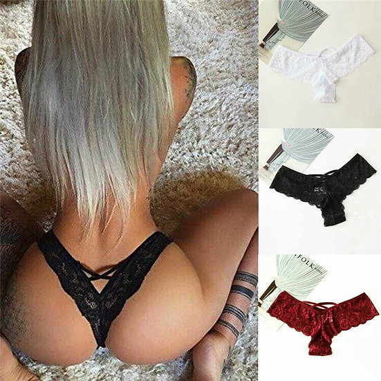 Womens Lace Seamless Sexy Lingerie Underwear