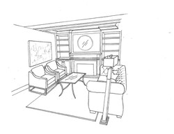 Project Darling - Living Room