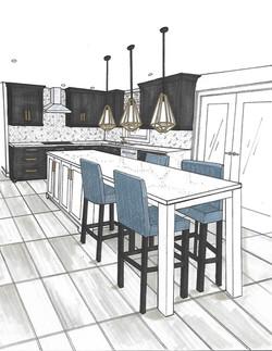 Project Belaire - Black Kitchen