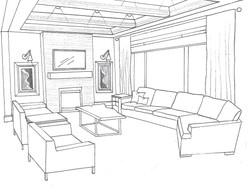 Project Ethridge - Living Room