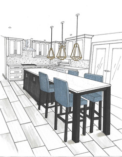 Project Belaire - White Kitchen