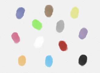Que cores vês aqui?